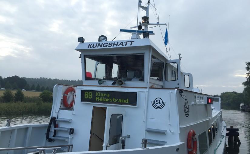 Klart med pendelbåt till Ekerö
