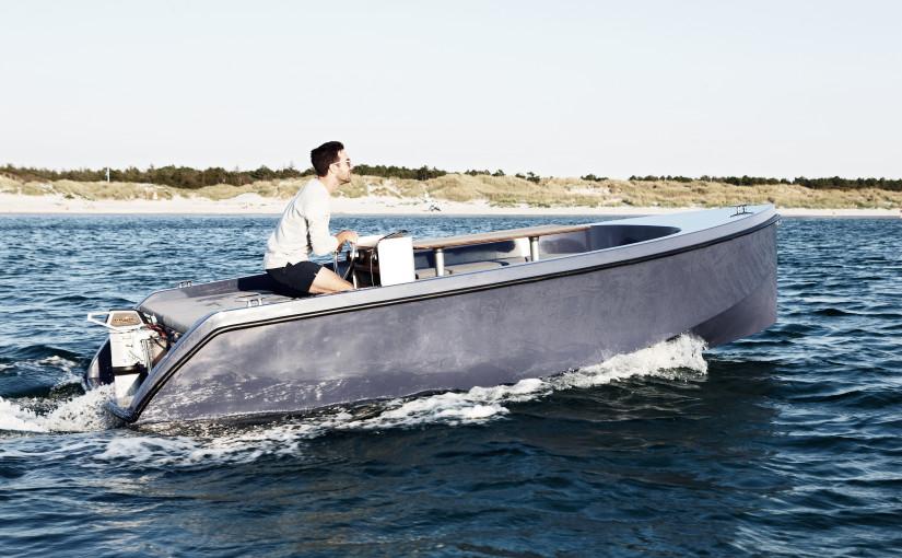 Danska elmotorbåtar på Öppna Varv på Orust