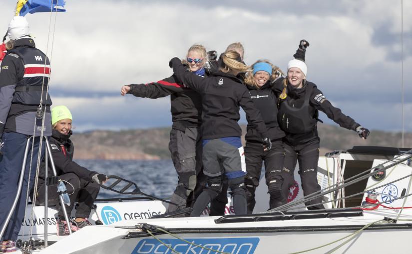 Anna Östling leder Lysekil Women's Match obesegrad