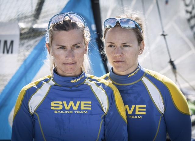 Sju svenska seglare jagar OS-medaljer