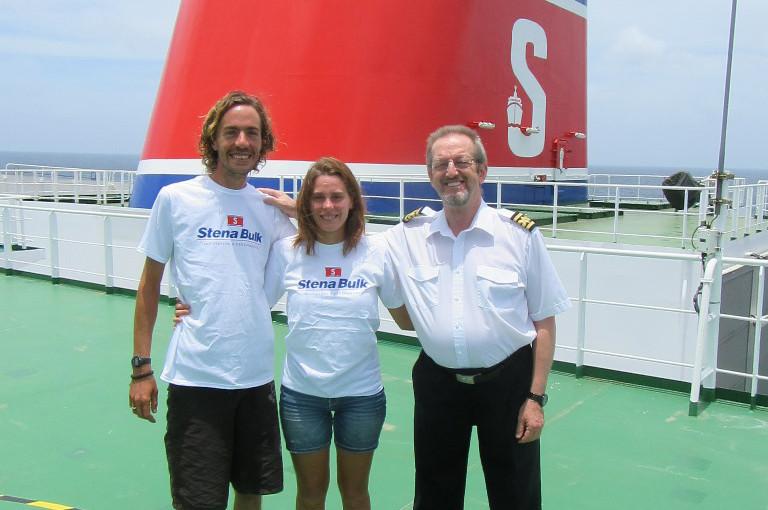 Stena Clear Sky räddade franskt par norr om Brasilien