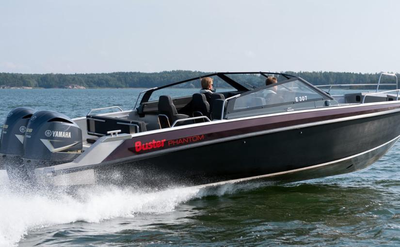 Dubbla V8:or på Busters nya toppmodell
