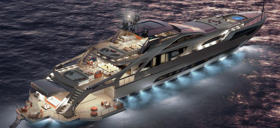 Italiensk superlyx i nytt flaggskepp från Pershing