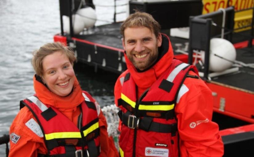 Utbildning av Rescuerunner-förare på Käringön