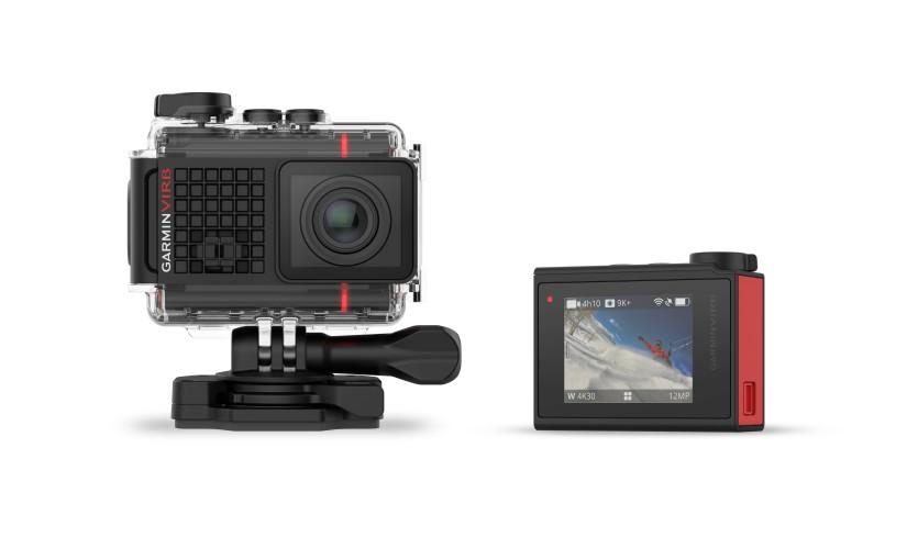Actionkamera med Ultra HD 4K med röststyrning