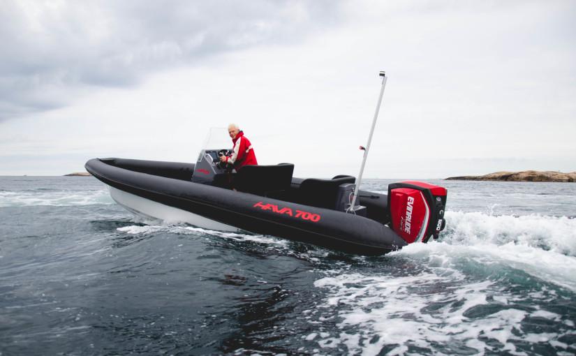 Ny generation lätta RIB-båtar