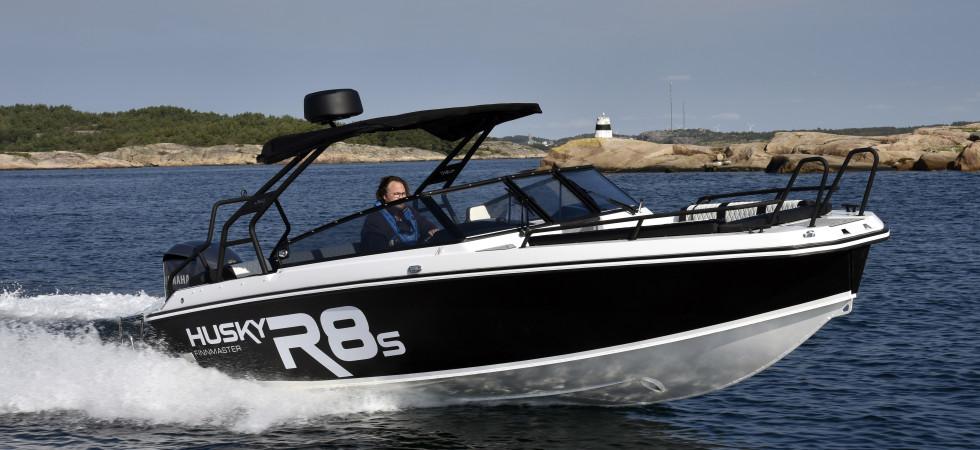 Husky R8s – nytt flaggskepp med attityd