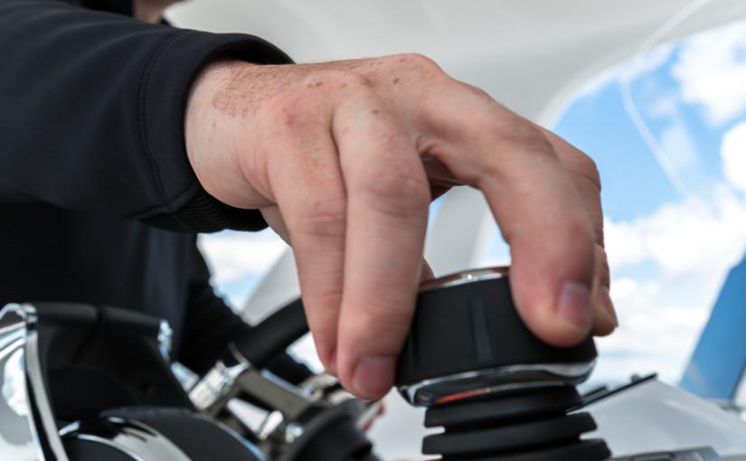 Ny generationens joystickstyrning från Mercury