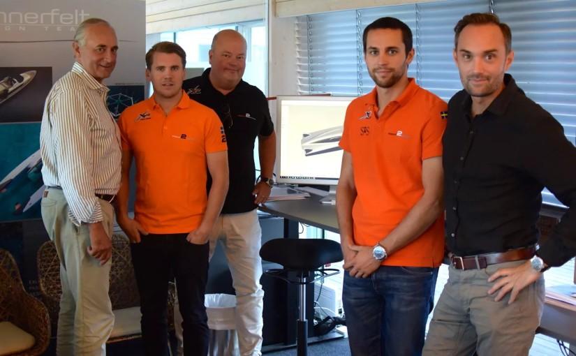 Ny hyperbåt från Swecat Racing och Mannerfelt Design Team