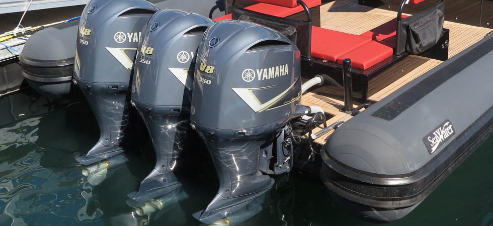 Snabb ökning av antalet stulna båtmotorer