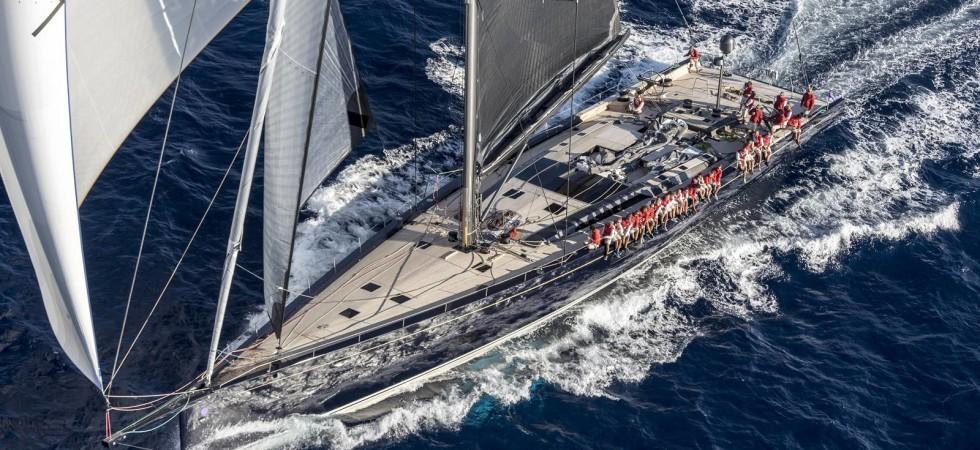 40 m superyacht i kolfiber från Baltic Yachts
