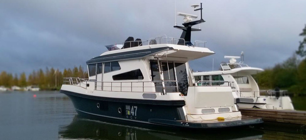 Nord Stars nya flaggskepp sjösatt