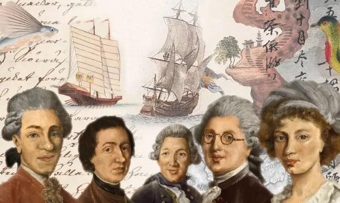 Sjöhistoriska sätter segel mot Kanton i ny utställning