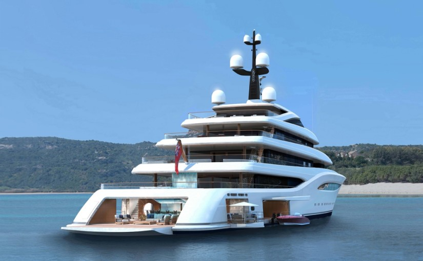 Feadship sjösätter 96 m superlyx