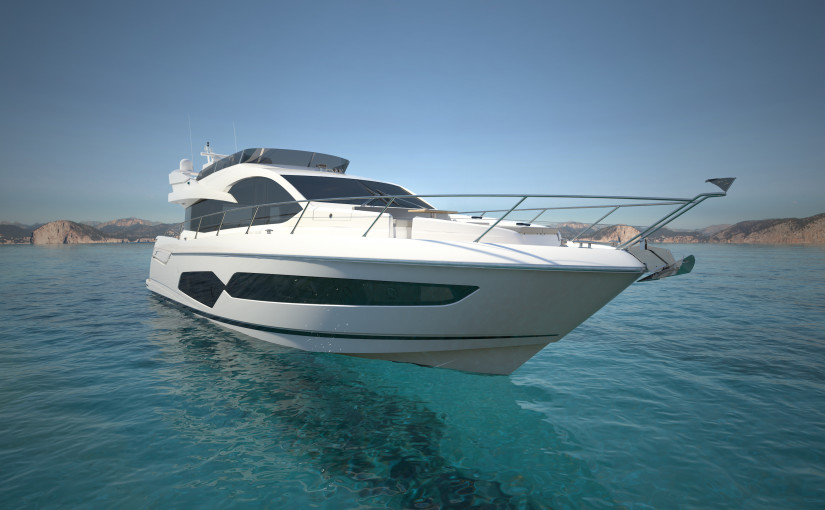 Sunseeker Manhattan 66 med flybridge