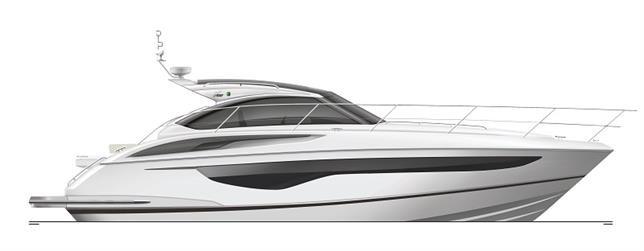 Helt ny Princess V40 på boot Düsseldorf