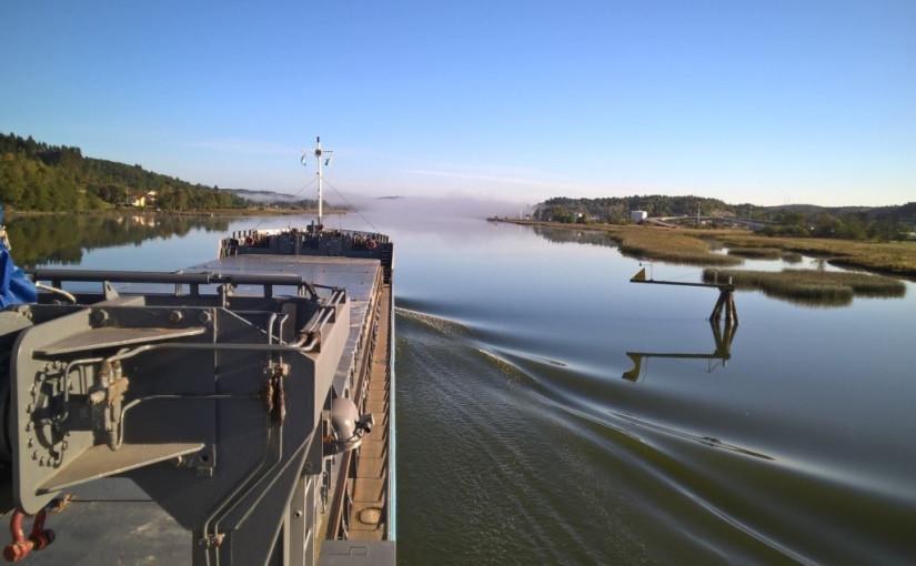 Åtgärder och stort engagemang krävs för ökad sjöfart