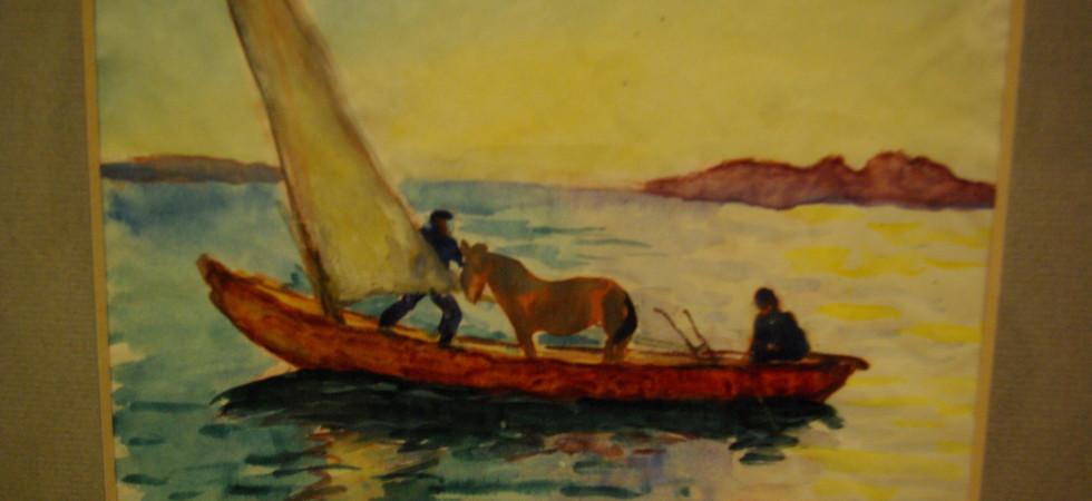 Imponerande Axel Sjöberg-utställning på Sven-Harrys Konstmuseum