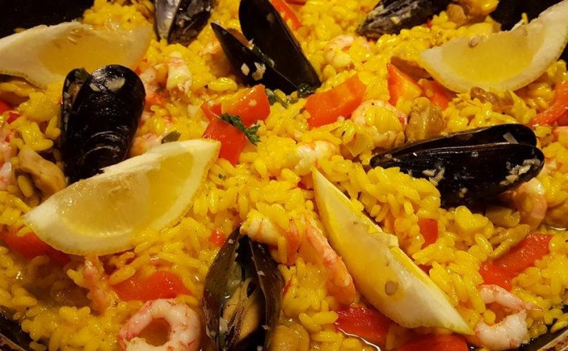 Vågad paella – ett vinnande recept på sjön