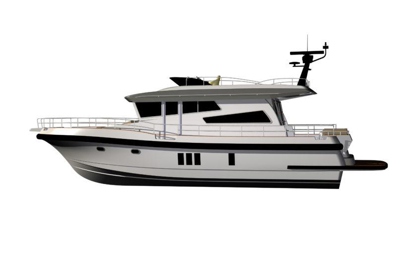 Nordstar 47 största motorbåten på Allt för sjön