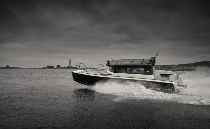 XO Boats officiella mediabåtar i America's Cup