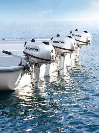 Världspremiär i Hondas monter på Göteborgs båtmässa
