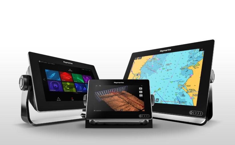 Nya Raymarine multifunktionsdisplayer med 3D-ekolod