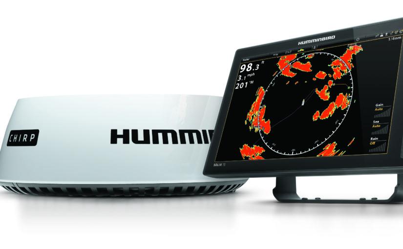 Lätt och snabb Humminbird CHIRP radar