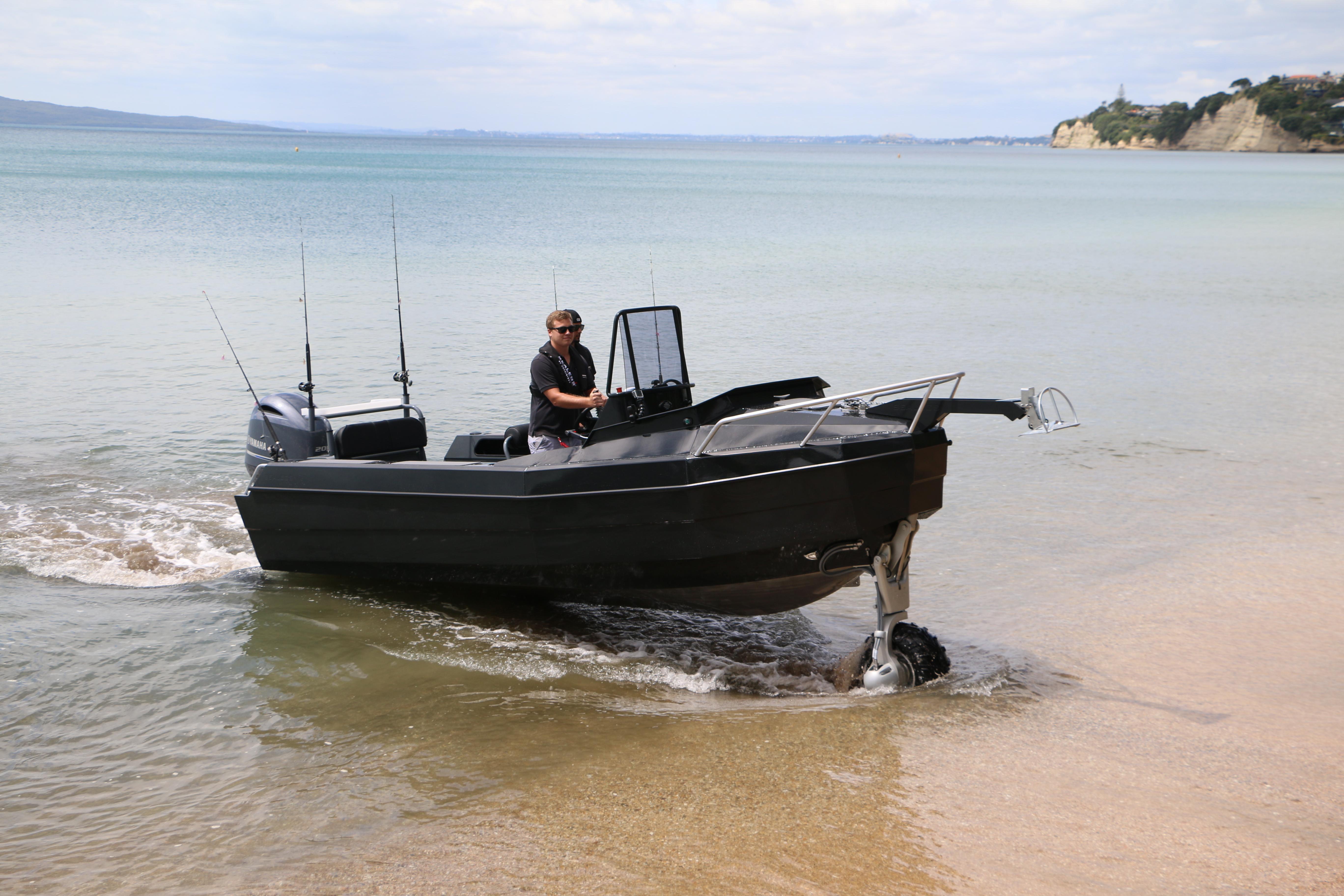 pulpet till båt ~ 38 knop i båt med hjul för alla fiskare  båtliv