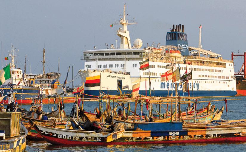 Stena Line inleder samarbete med Mercy Ships
