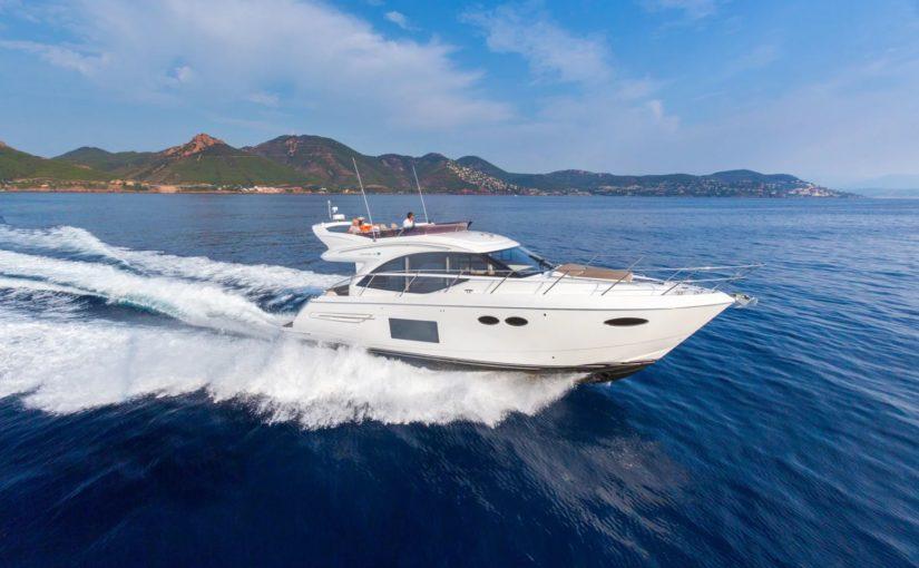 Båtmässan 2017 helt fullbokad– Princess 49 största motorbåten