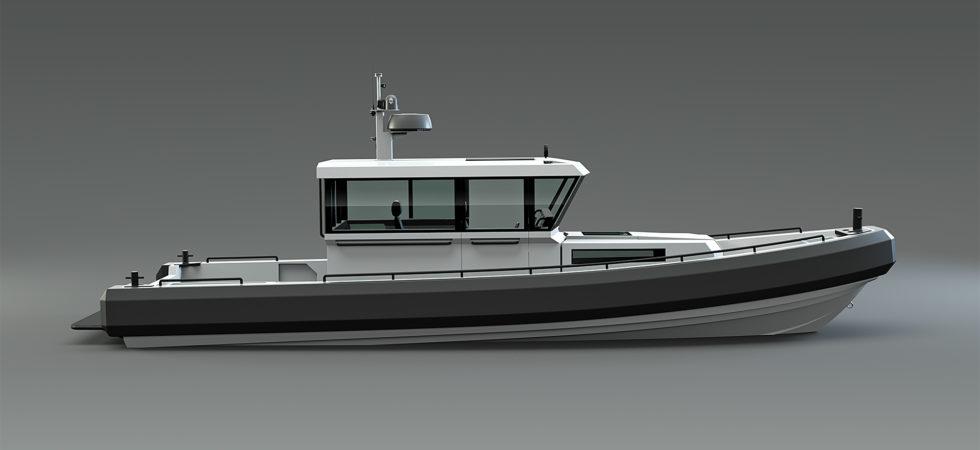 Två nya hyttbåtar i aluminium från Rupert Marine