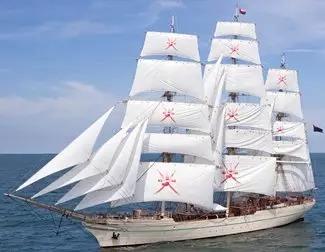 Shabab Oman II till The Tall Ships Races i Halmstad