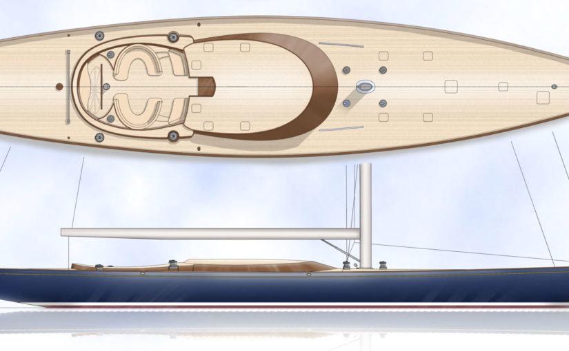 Spirit Yachts bygger 34 m superyacht i trä