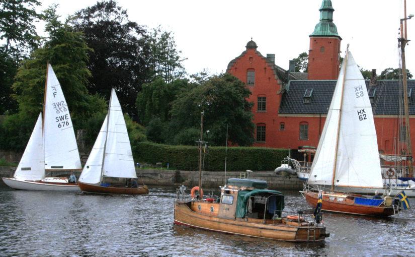Träbåtsfestival i Halmstad i augusti