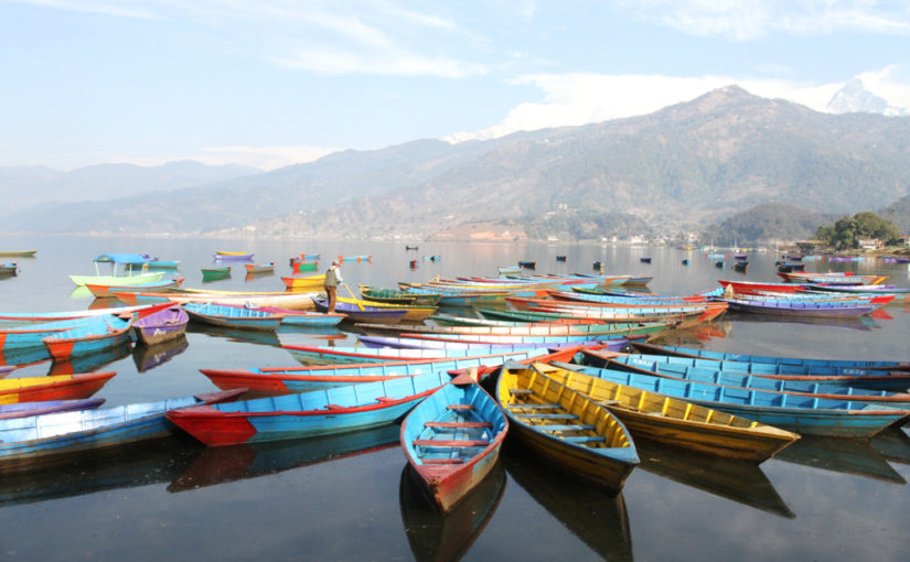 Det finns ett båtliv – även i Katmandu