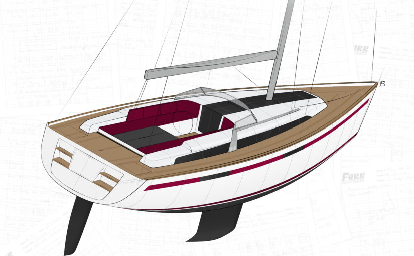 "Najads ""Mini Superyachter"" tar form"