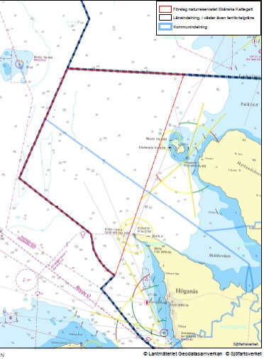 Första steget mot det marina naturreservatet Skånska Kattegatt