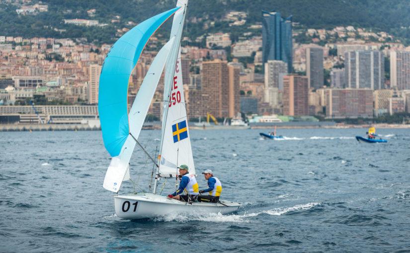 Svenskt EM-guld i 470 – utan att behöva segla