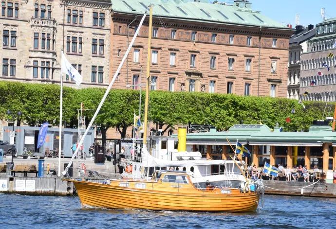 Skönheten Edhvina fick Allt för sjöns veteranbåtspris
