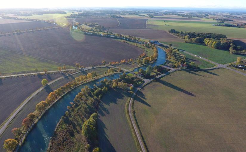 Vattennivåer låga vid inlopp till Göta kanal
