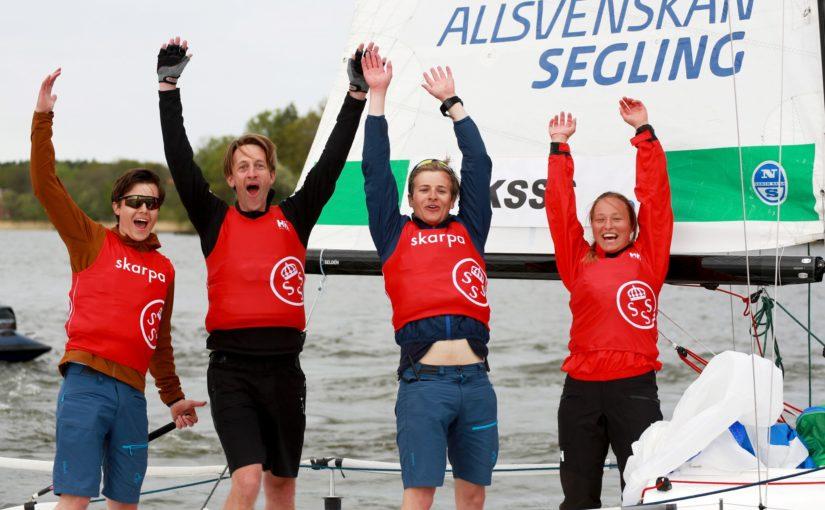 KSSS vann första omgången i Allsvenskan Segling