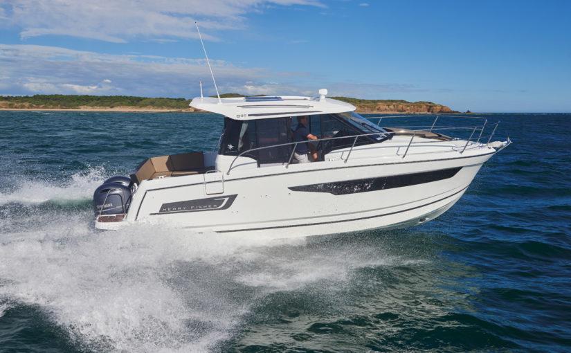 Ny stor kabinbåt från Jeanneau