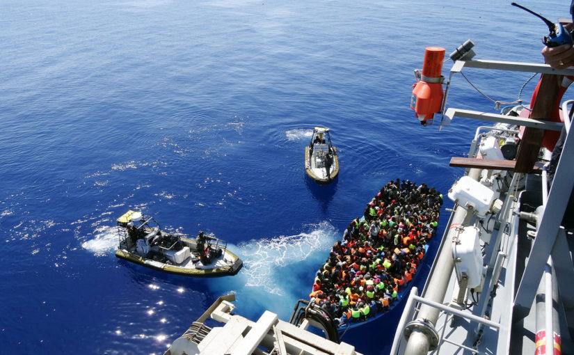Ny insats av Kustbevakningen i Medelhavet