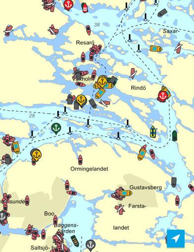 Uppdaterad navigationsapp för Eniro