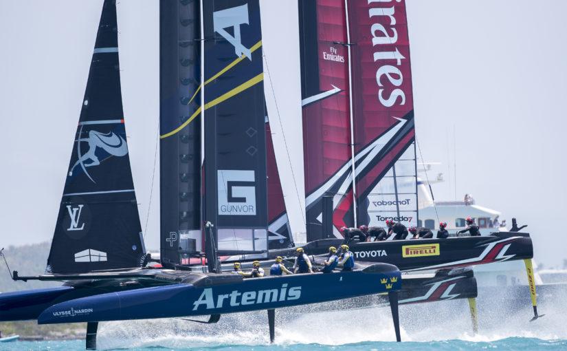 Tunga förluster för Artemis Racing