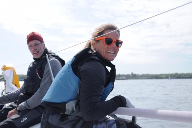 Seapilot2star i full gång – Pernilla Wiberg med ombord