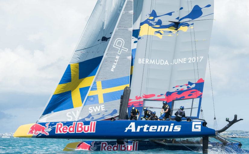 Straff kostade Sverige topplacering i Red Bull Youth America's Cup