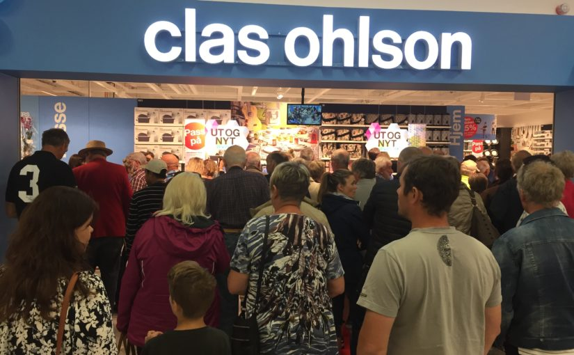 Clas Ohlson öppnar butik med båtparkering