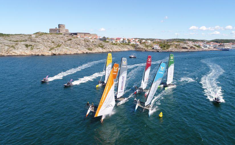 Tre svenska lag till åttondelsfinal på Marstrand